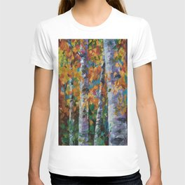 Birch trees - 1 T-shirt