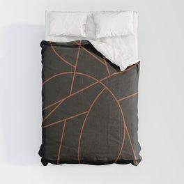 Minimal Lines 001 Comforters