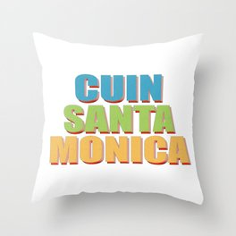 CUIN SANTA MONICA Throw Pillow