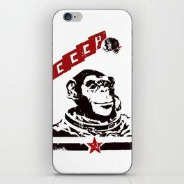 Soviet Space Monkey iPhone Skin