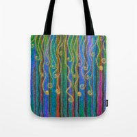 carnival Tote Bags featuring Carnival by Lindel Caine