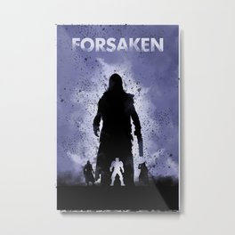 Forsaken Legend Metal Print