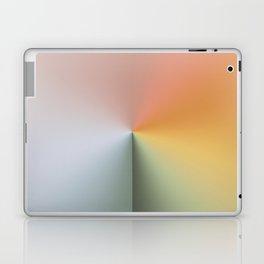 Line Gradient / Xanadu & Grey Asparagus Laptop & iPad Skin
