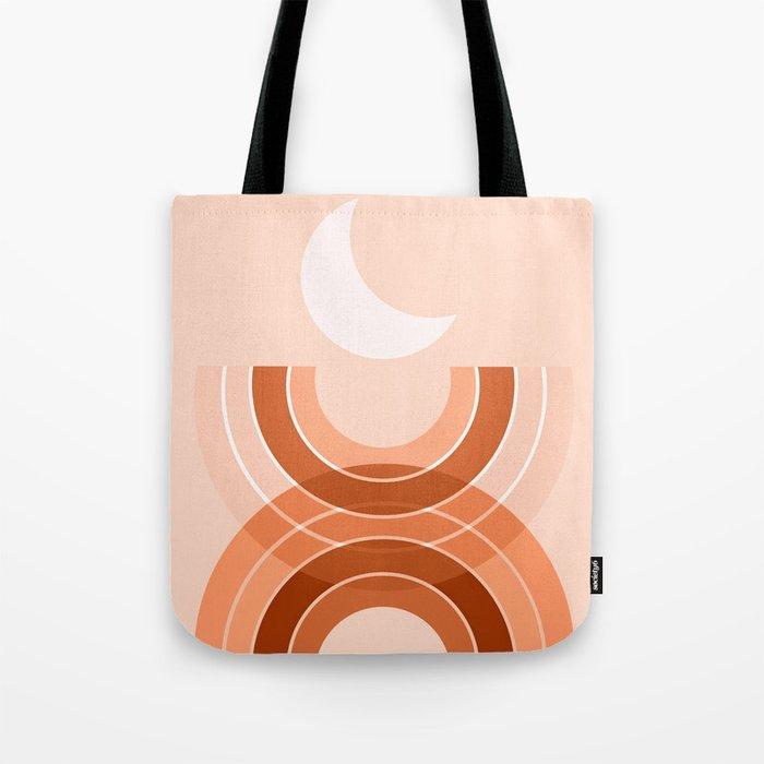 Cradle the moon - desert Tote Bag