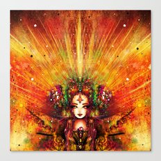 CORONATION Canvas Print