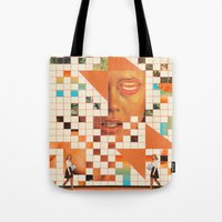 poem Tote Bags featuring Orange poem by Mariano Peccinetti