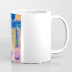 Industrial Abstract Blue 2 Coffee Mug