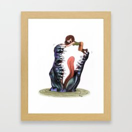 The adventuress Framed Art Print