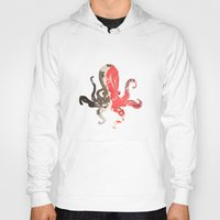 marble Hoodies featuring marble octo by Okti