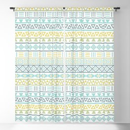 Aztec Influence Ptn Colorful Blackout Curtain