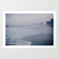 Atlantic Shore  Art Print