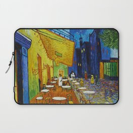 "Vincent van Gogh ""Cafe Terrace, Place du Forum, Arles"" Laptop Sleeve"