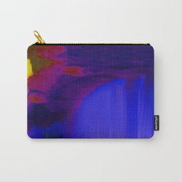 Indigo Waterfall, by Mickeys Art And Design Carry-All Pouch