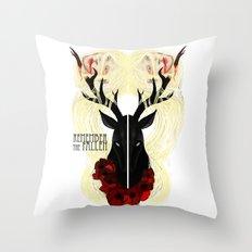 Remember the fallen Throw Pillow