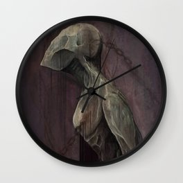 Drained Wall Clock