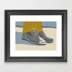 Feezing Framed Art Print