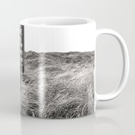 """Surf Unsafe, Strong Undertow"" Beach Access Sign Washington Coast, Pacific Northwest Coffee Mug"