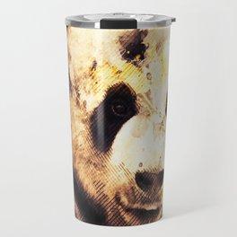 Panda Painting, Panda Mixed Media, Panda Bear, Panda Animal, Pandas Art, Panda Print, Best Panda Travel Mug