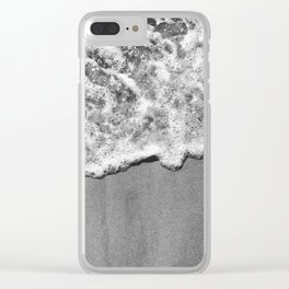 Byron Bay Wave Blanket Clear iPhone Case