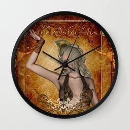 Wonderful fairy Wall Clock