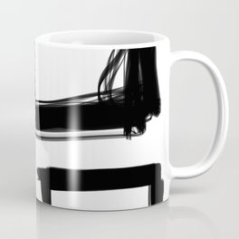 Squares Without a Care Coffee Mug