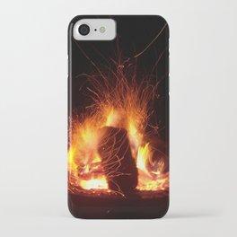"""Fire Photo 3"" iPhone Case"