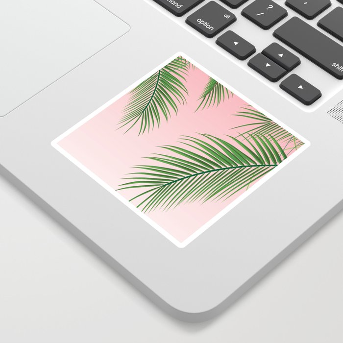 Palm Tree Leaves Sticker