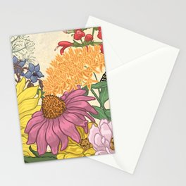Pollinator Flowers 1 Stationery Cards