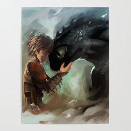 Hiccup Posters For Any Decor Style Society6