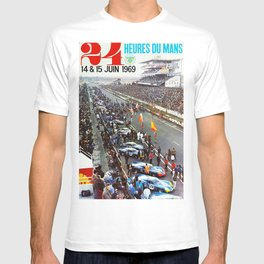 1969 Le Mans poster, Race poster, Car poster, vintage poster T-shirt