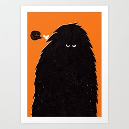 Monster Art Print