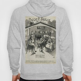 Once A Sailor, Family by Fire Listening to Sailor's Stories, vintage Hoody