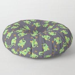 Cute + ferocious dragon pattern Floor Pillow