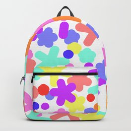 Happy pattern colorful Backpack
