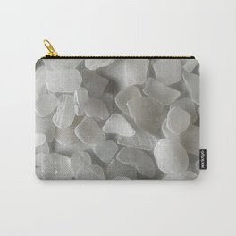White on White on White Carry-All Pouch