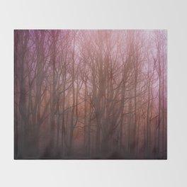 Dark Forest Throw Blanket