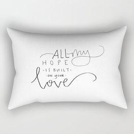 love things Rectangular Pillow