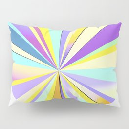 pastel sun Pillow Sham