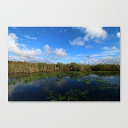 Blue Hour In The Everglades Canvas Print