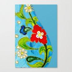 Genie Enamel Canvas Print