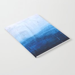 All good things are wild and free - Ocean Ombre Painting Notebook