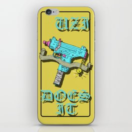 UZI DOES IT iPhone Skin