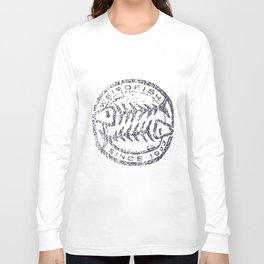 Weird Fish Heritage Surf Graphic Print Fish T-Shirts Long Sleeve T-shirt