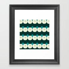 Cucumber Maki Framed Art Print