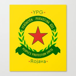 YPG, People's Protection Units Canvas Print