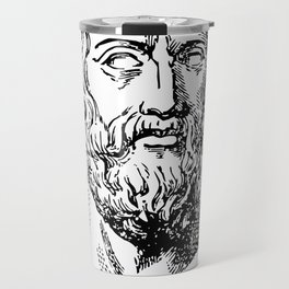 Plato's Cavy - The Allegory of the Cage Travel Mug