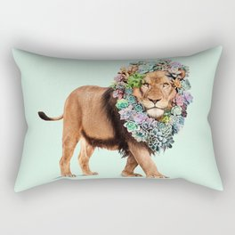 SUCCULENT LION Rectangular Pillow