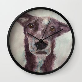 Parson, the cattle dog Wall Clock