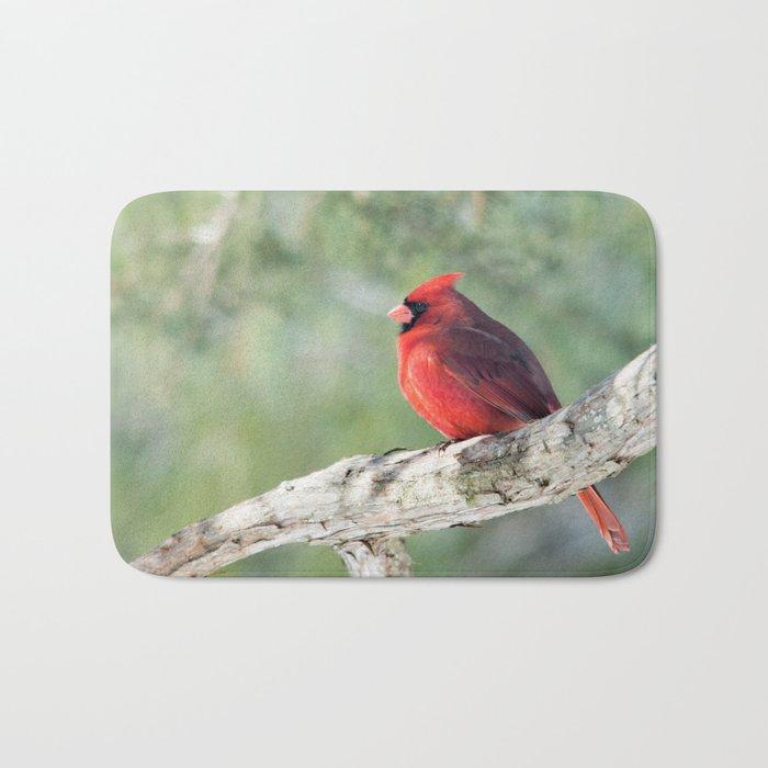 Serene Cardinal Bath Mat