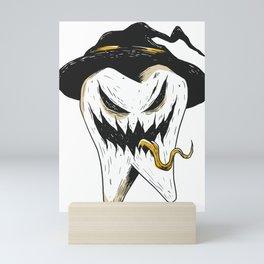 Scary Tooth Mini Art Print